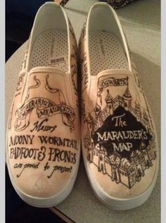 Harry Potter Marauder's Map Vans