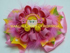 Nuevo modelo de flor de liston,Ribbon Hair Bow, Tutorial,video571 - YouTube