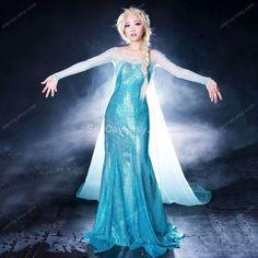 frozen Elsa Dress Queen Elsa costume Elsa frozen Dress by SayCay, $159.- make one similar to this?
