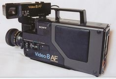 Vintage Sony CCD-V110 Video 8 8mm Pro Camcorder - My first ever Video Camera