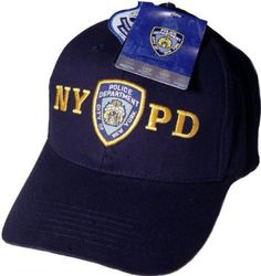 88470042f14 NYPD Baseball Cap Hat Navy Blue Officially Licensed by The New York City  Police Department Anti