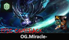 Epic Comeback Miracle-  Phantom Assassin vs Badman Spectre with Rapier D...