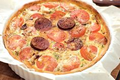 Kijk wat een lekker recept ik heb gevonden op Allerhande! Spaanse tomatentaart