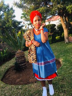 Sepedi traditional attire Sepedi Traditional Dresses, African Traditional Wear, Wedding Dresses South Africa, African Dresses Men, African Prints, African Fashion, Wedding Designs, Clothing, How To Wear