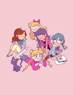 Sailor Scouts fan art