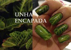 Como fazer pelicula de unha /  Make your nail plicula