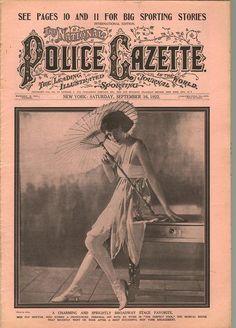 The National Police Gazette September 16 1922