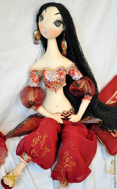 belly dance doll
