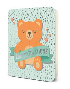 Studio Oh! Deluxe Card Set- Congratulations Bear