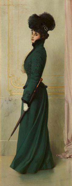ヴィットーリオ・マッテーオ・コルコス - Portrait of Jole Moschini Biagini – and FINEARTS – アンド ファインアート