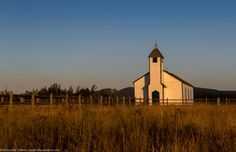 Annual Photo Contest 2014 | United church in Alberta @ golden hour