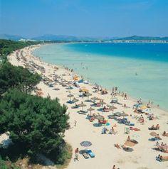 Alcudia. Mallorca Spain. Miss this beach already!