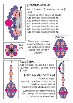 Bead Mavens: Easy Beaded Bead Chain