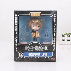 4.2'' Death Note Yagami Light Killer Nendoroid Action Figure Model Toy L Lawliet Black Butler Kuroshitsuji Ciel PVC Figures doll