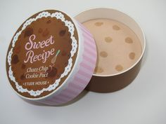 Etude House Sweet Recipe Choco Chip Cookie Pact (Kawaii makeup compact)