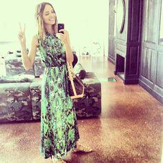 Our adorable Candela Novembre wearing WHAT'S INSIDE YOU F/W 2013 dress #Whatsinsideyou #EleonoraCarisi #FW13/14 #CandelaNovembre