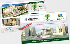 Projeto de criação de flyer para a construtora Opcional Engenharia em Curitiba.
