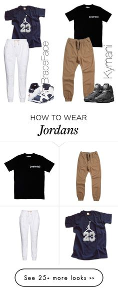 """Chillin Wit My Lil Brother Blastin Fetty Wap"" by august-lloyd on Polyvore featuring мода, NIKE, 17 Sundays и Illustrated People"