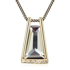 Crystal Jewelry Sunny Bay Necklace by Swarovski Elements - Promotional Offers- - TopBuy.com.au