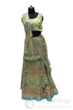 http://www.mangaldeep.co.in/lehengas/see-the-reaction-of-lime-net-designer-party-wear-choli-suit-7850 Call us for queries on +919377222211 (Whatsapp Available)