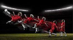 Corbis Soccer Shoot on Behance
