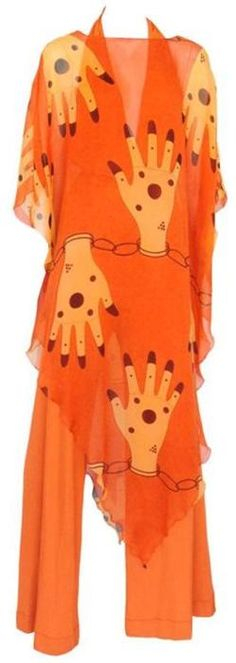 Dress • Stephen Burrows, 1970s Must have~already have the pants just need the dress.