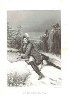 Michel Ney - Image taken from page 195 of 'Histoire du Consulat et de l'Empire, faisant suite à l'Histoire de la Révolution Française'