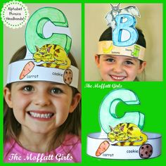 The Moffatt Girls: Alphabet Phonics Headbands! For sale- I think I'll try to mak… The Moffatt Girls: Alphabet Phonics Headbands! For sale- I think I'll try to make them with the kids Jolly Phonics, Teaching Phonics, Preschool Letters, Learning Letters, Kindergarten Literacy, Early Literacy, Preschool Learning, Kids Phonics, Early Learning
