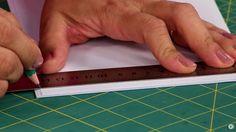 Aula de fundamento - Como montar o miolo do caderno.