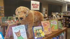 PAWS to Read- Martha Speaks book display