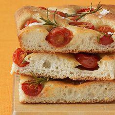 Tomato Focaccia -- Made with frozen dough