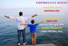 Important Dates to remember for the Australian Rotary Health Photo Competition