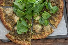 Pea & Pesto Pizza #recipes #food #drink #cuisine #boissons #recettes