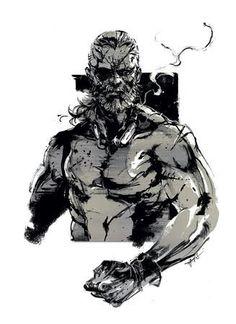 Venom Snake by Yoji Shinkawa