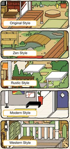 Rustic Or Zen Style Neko Atsume