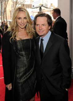Michael J. Fox & Tracy Pollan -demonstrated TRUE love through all the challenges... they've been married since 1988!