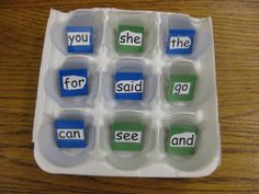 Sight word Tic Tac Toe - So simple and fun!