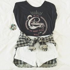 Coachella Outfit! Purchase this shirt & you'll give $7 back to an awesome cause. Get it at #sevenly