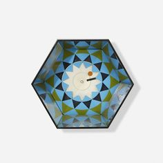 George Nelson & Associates Kaleidoscope wall clock 2277