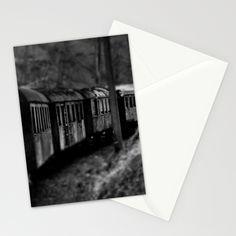 Spooky Train Stationery Cards by Rainer Steinke | Society6 Train railway railrod ghost eisenbahn geisterzug zug horror #Train #railway #railrod #ghost #eisenbahn #geisterzug #zug #horror