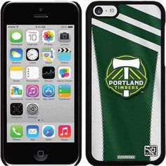 Portland Timbers Jersey Design on Apple iPhone 5c Thinshield Snap-On Case by Coveroo