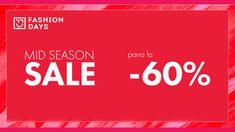 Mid Season Sale – pana la -60% reducere pe Fashion Days Fashion Days, Home Fashion, Seasons, Seasons Of The Year