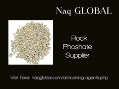 Our Rock Phosphate is the best for fertilizer in Agriculture. For more information visit