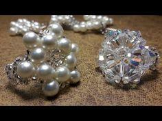 Anillo Con Perlas y Mostacillas...Clase #13 - YouTube