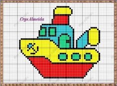 Vanessa Santos, Cross Stitch Embroidery, Cross Stitch Patterns, Beading Patterns, Crochet Patterns, Knitted Jackets Women, Cross Stitch For Kids, Charts And Graphs, C2c
