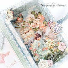 Secret Garden tiny shadow box for Graphic 45, by Aneta Matuszewska, photo 7