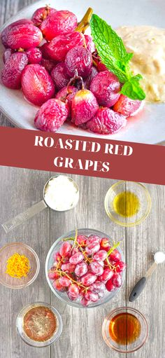 This amazing grape recipe would be a delicious holiday appetizer or an any night of the week sweet treat. Best Appetizers, Appetizer Recipes, Snack Recipes, Dinner Recipes, Drink Recipes, Yummy Recipes, Healthy Recipes, Easy No Bake Desserts, Delicious Desserts