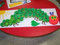 """Eric Carle Celebration Day - Mall-ards """"Incredible"""" Kindergarten Happenings 2011-2012"""