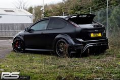 Ford Focus RS 500 mk2 black colour with huge alloy rims #RS500 #ST