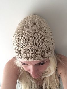 Ravelry: Uni cabled hat pattern by Yvonne B. Thorsen